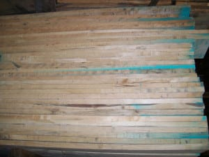 4/4 Wormy Oak Lumber