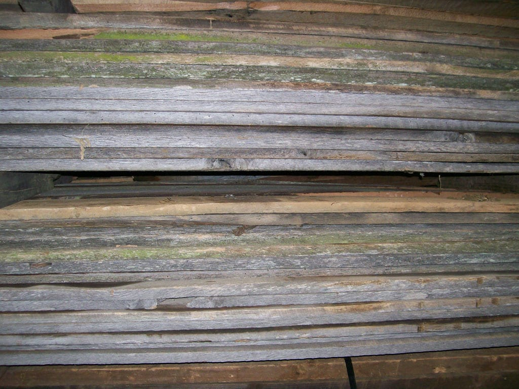 Wormy chestnut reclaimed lumber for sale for Reclaimed wood decking